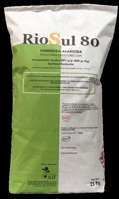 RioSul 80 - Productos AJF