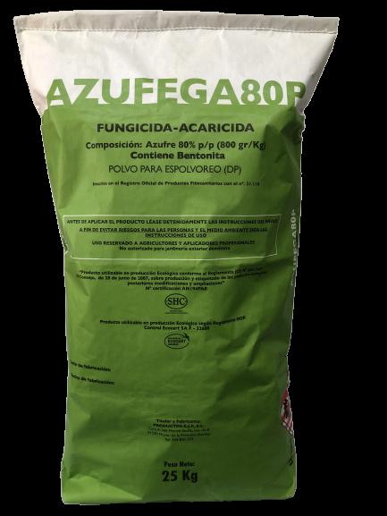 Azufega 80 P - Productos AJF