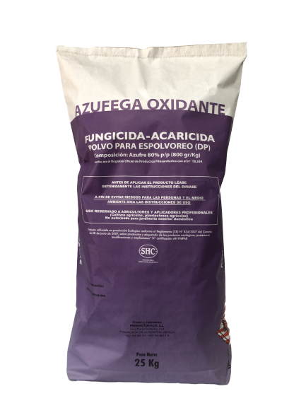 Azufega oxidante - Productos AJF
